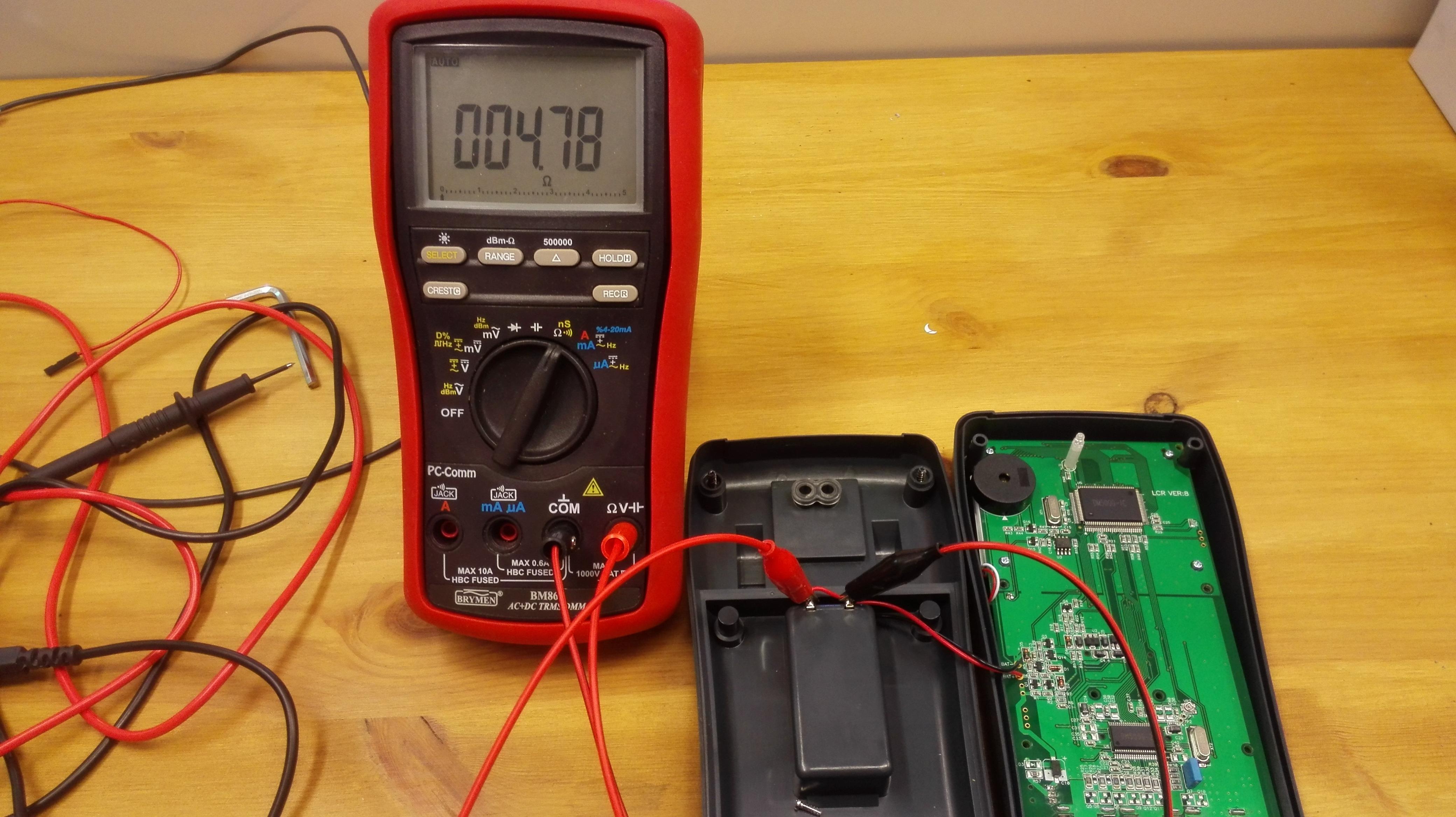 Ebay Lcr Meter Mikropure Bridge Class A Short Circuit